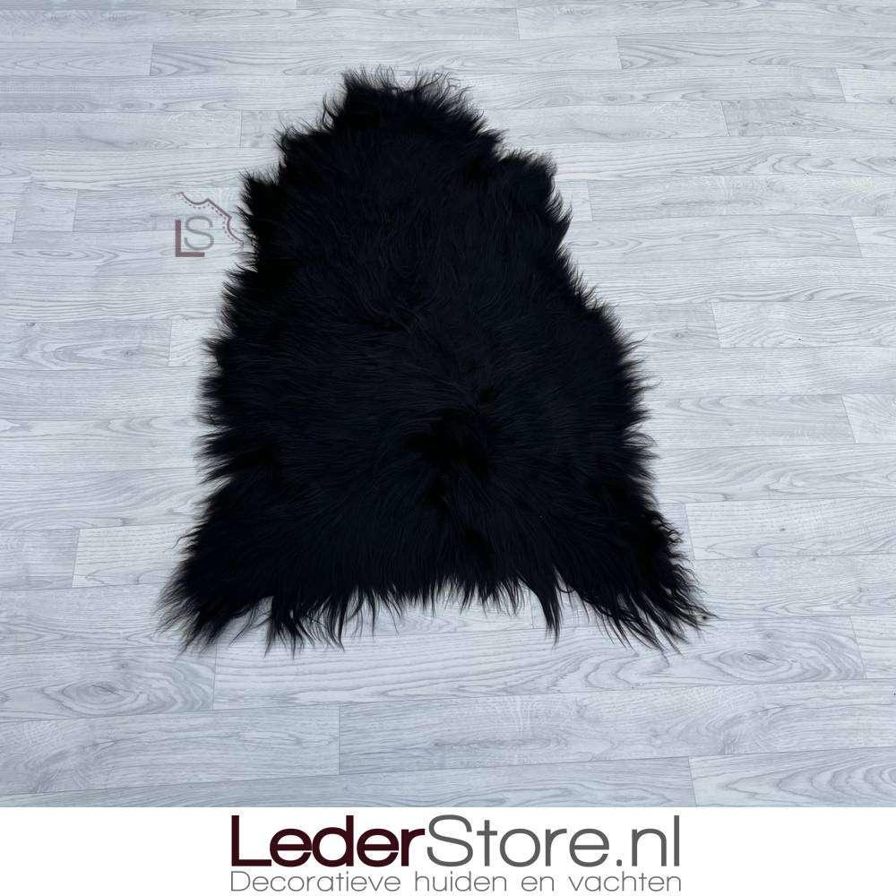 IJslander schapenvacht zwart 110x80cm