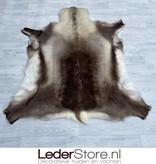 Rendierhuid bruin wit 135x130cm