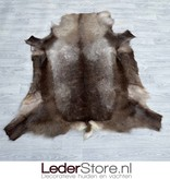 Reindeer hide brown white 150x130cm