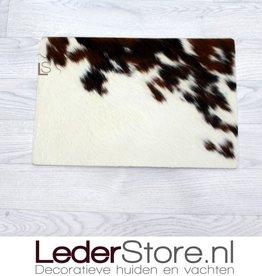 Koeienhuid placemat bruin zwart wit 45x30cm