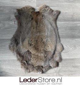 Rabbit skin brown 50x35cm