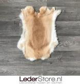 Rabbit skin beige white 50x40cm