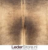 Koeienhuid bruin wit 255x215cm