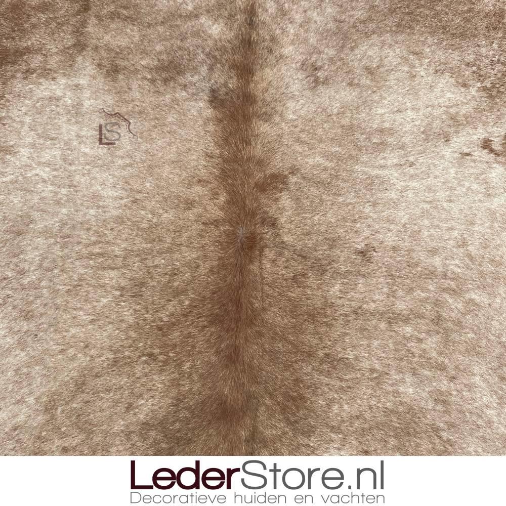 Koeienhuid bruin wit 235x210cm