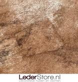 Koeienhuid bruin zwart wit 235x200cm
