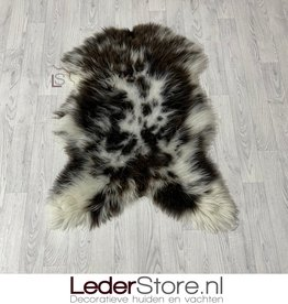 Sheepskin brown white 110x80cm L