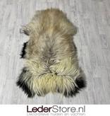 Schapenvacht bruin beige creme zwart 135x80cm XXL