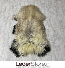 Sheepskin brown beige creme black 135x80cm XXL