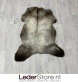 Schapenvacht bruin wit 105x80cm L