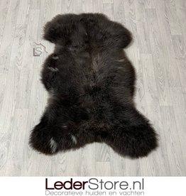 Sheepskin brown grey white 120x85cm XL