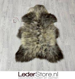 Sheepskin brown creme 115x75cm L