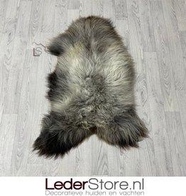 Sheepskin brown grey white 105x70cm L