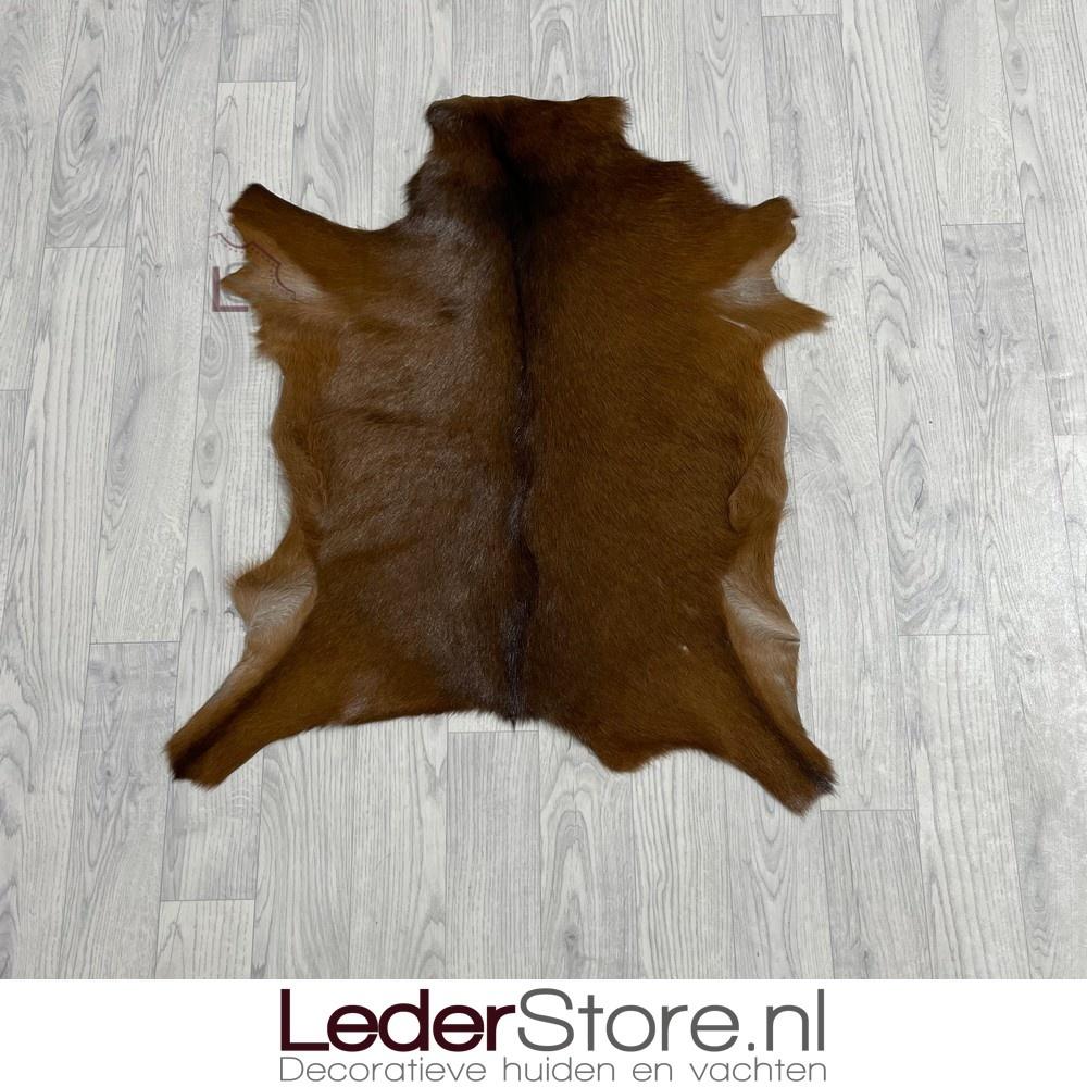 Geitenhuid bruin 85x70cm