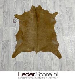 Goatskin rug brown 75x70cm