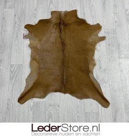 Geitenhuid bruin 80x70cm