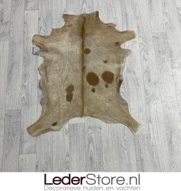 Goatskin rug brown 85x70cm