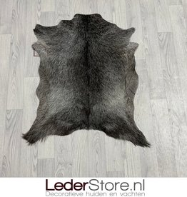 Geitenhuid grijs wit zwart 90x70cm