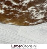Koeienhuid bruin wit 145x150cm