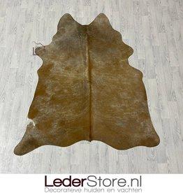 Cowhide rug brown white 195x155cm XS
