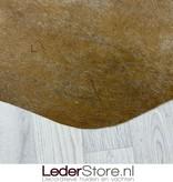 Koeienhuid bruin wit 195x155cm