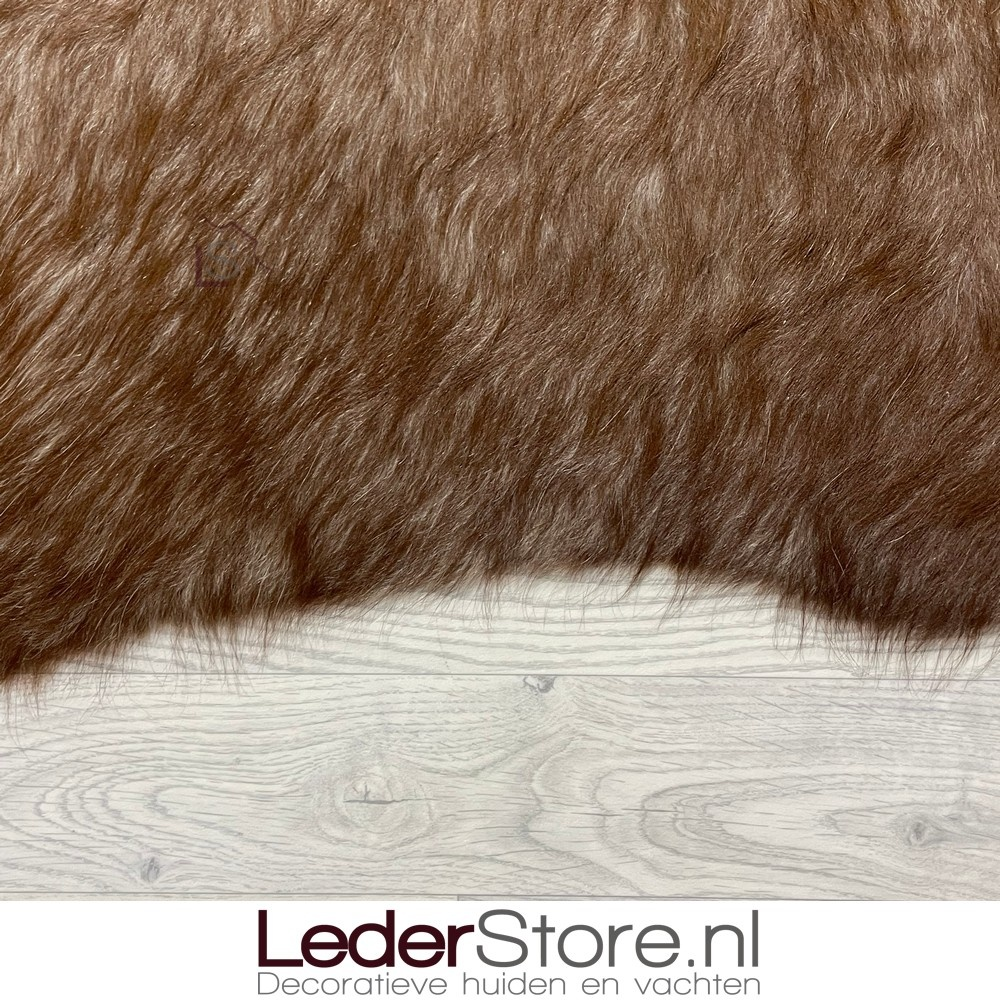 Koeienhuid bruin wit 145x60cm