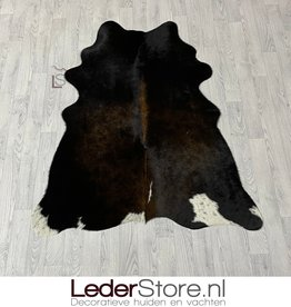 Koeienhuid bruin zwart wit 160x130cm XS