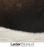 Koeienhuid bruin zwart wit 160x130cm