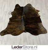 Koeienhuid bruin zwart wit 140x145cm