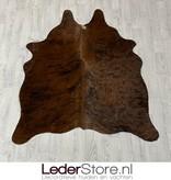 Koeienhuid bruin zwart wit 150x125cm