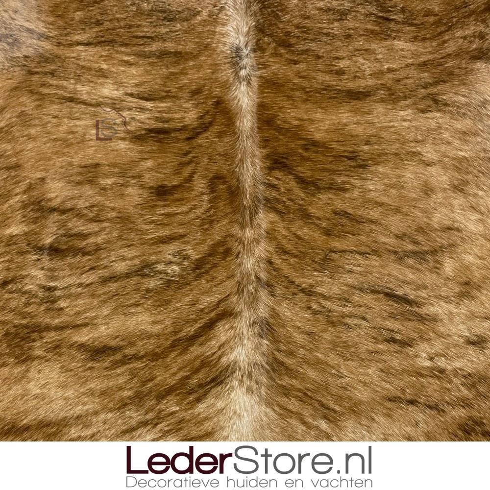 Koeienhuid bruin zwart 175x180cm