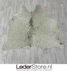 Cowhide rug black white 150x145cm XS