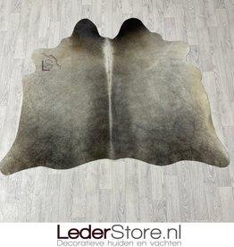 Cowhide rug grey brown creme 145x180cm XS