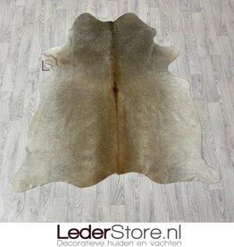 Cowhide rug grey white brown 170x150cm XS