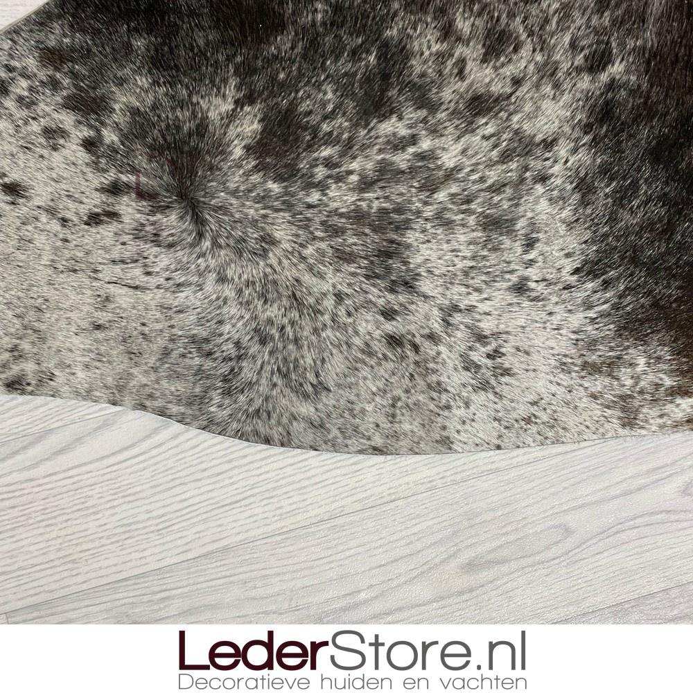 Koeienhuid bruin zwart wit 205x175cm