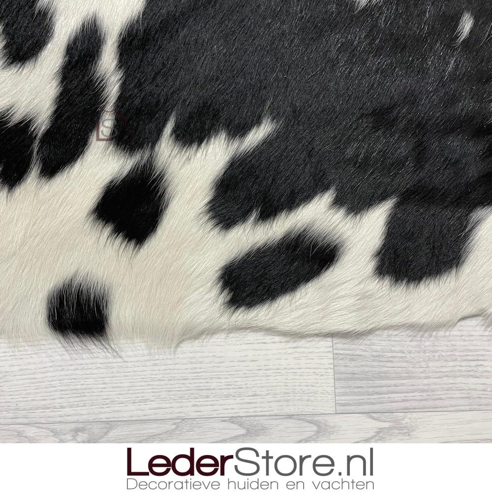 Koeienhuid zwart wit 200x205cm