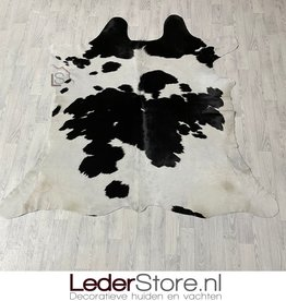 Koeienhuid zwart wit 195x200cm S