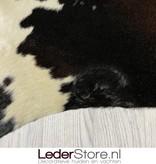 Koeienhuid bruin zwart wit 210x205cm