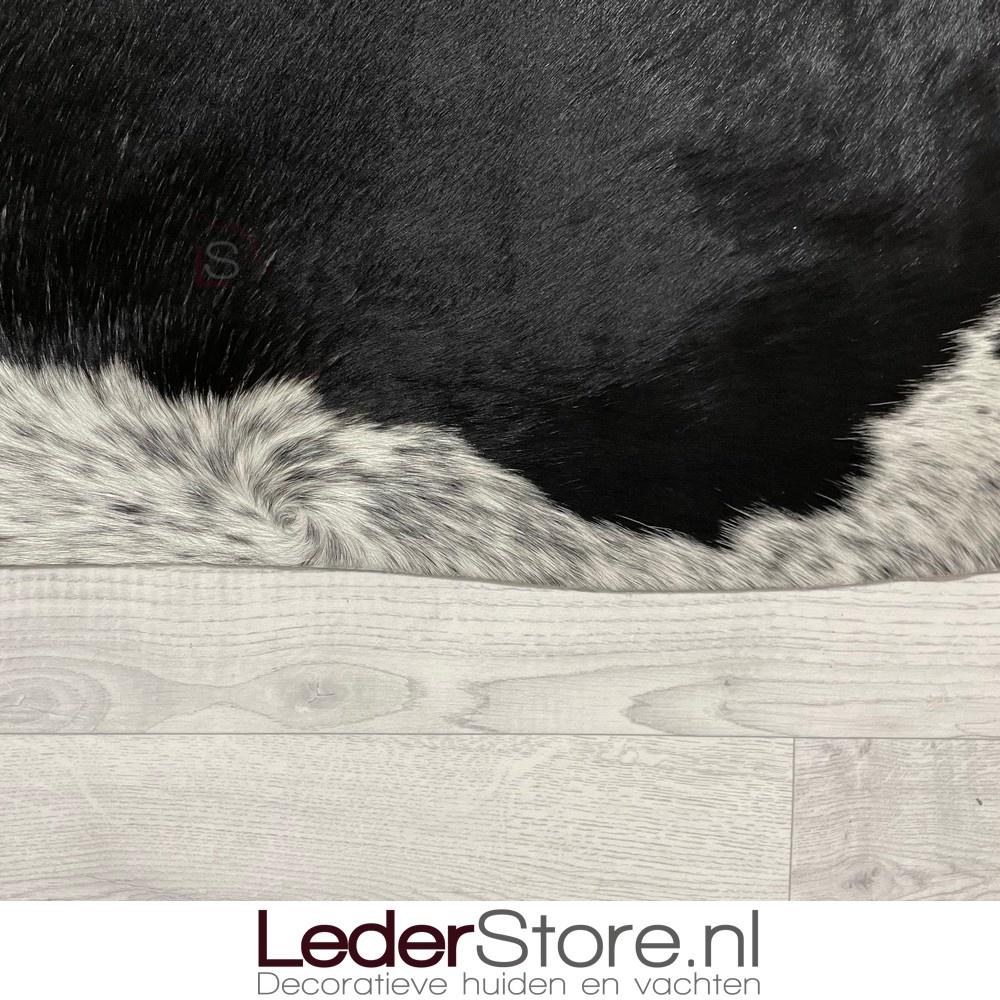 Koeienhuid zwart wit 215x200cm