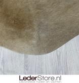 Koeienhuid champagne beige wit bruin 210x205cm