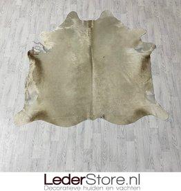 Cowhide rug champagne 190x195cm M/L