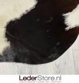 Koeienhuid bruin zwart wit 225x195cm