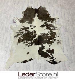Cowhide rug taupe white 225x185cm M/L
