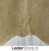Koeienhuid beige wit 225x195cm