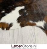 Koeienhuid bruin wit zwart 245x230cm