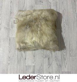 Sheepskin pillow special 40x40cm