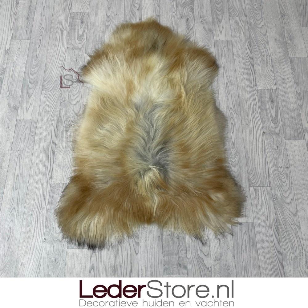 IJslander schapenvacht beige creme grijs 115x80cm L