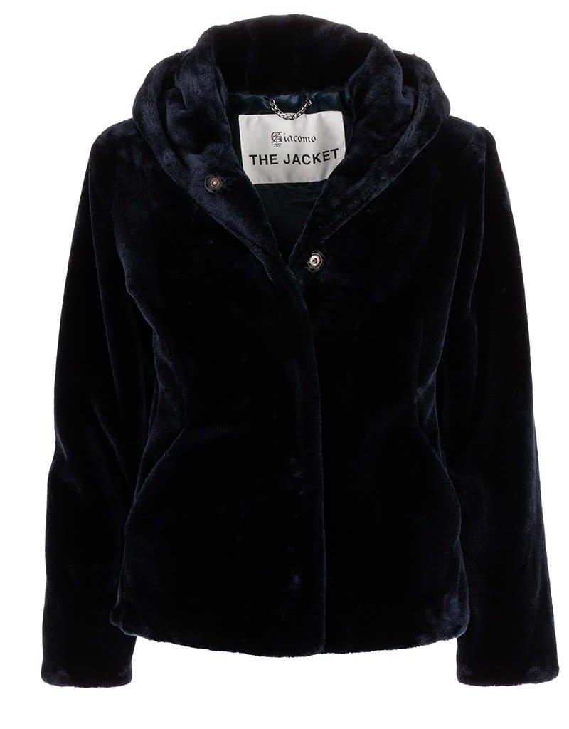 Giacomo Fake Fur Jacket Short