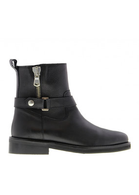 Tango Pleun fat 34-a boot/zipper/buckle - black sole