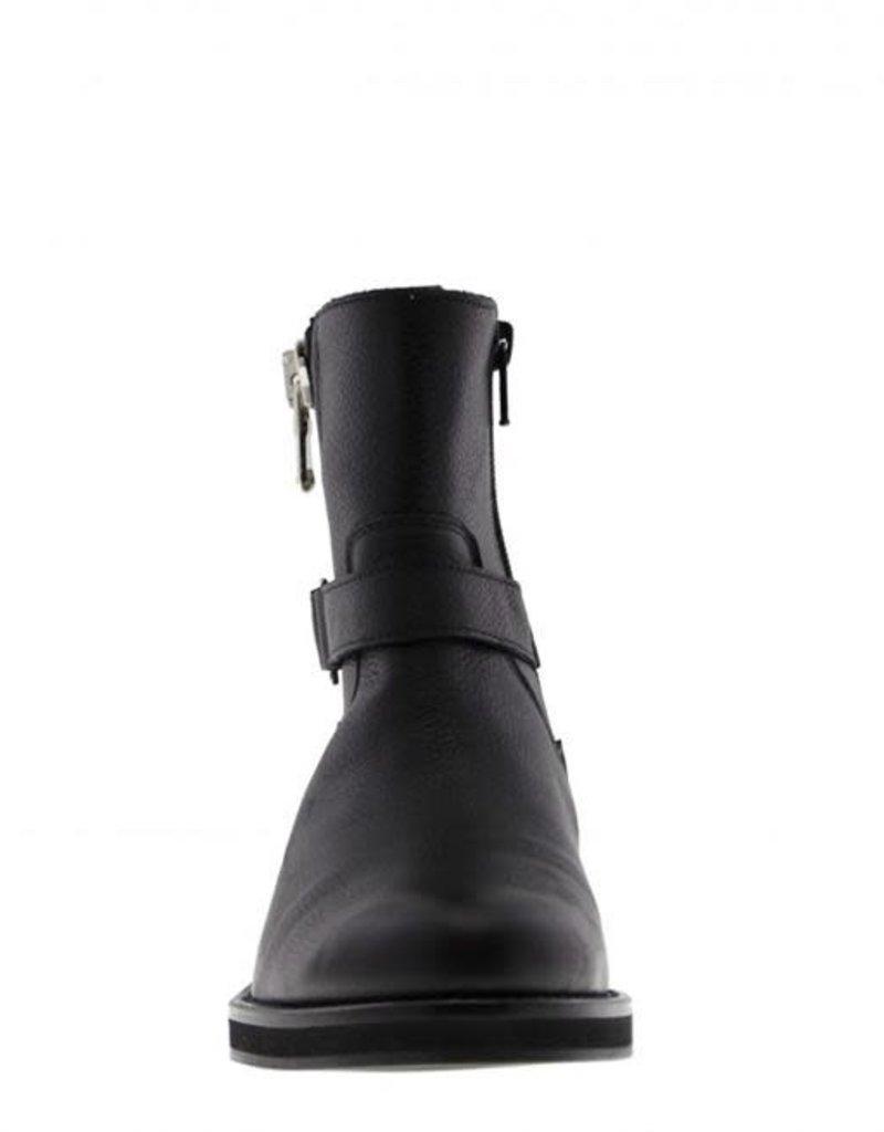 Tango Pleun fat 34-a boot/zipper/buckle - black sole