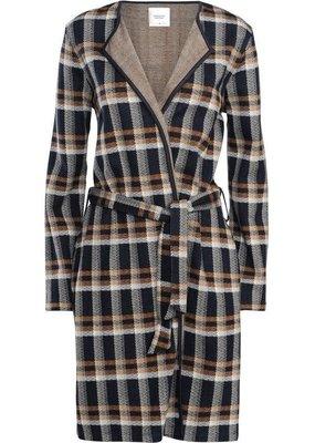 Summum Jacket indigo blue check 1s957-30075